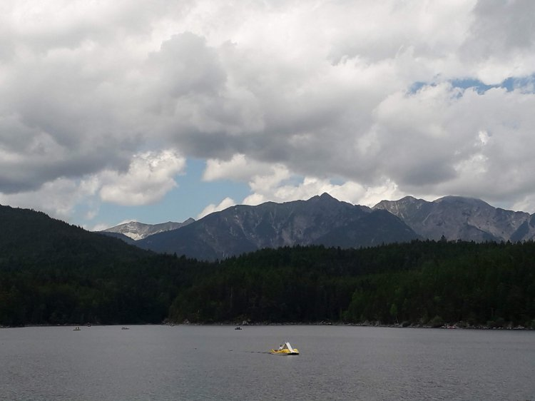 Séjour Tandem 2019 - le lac d'Eibsee