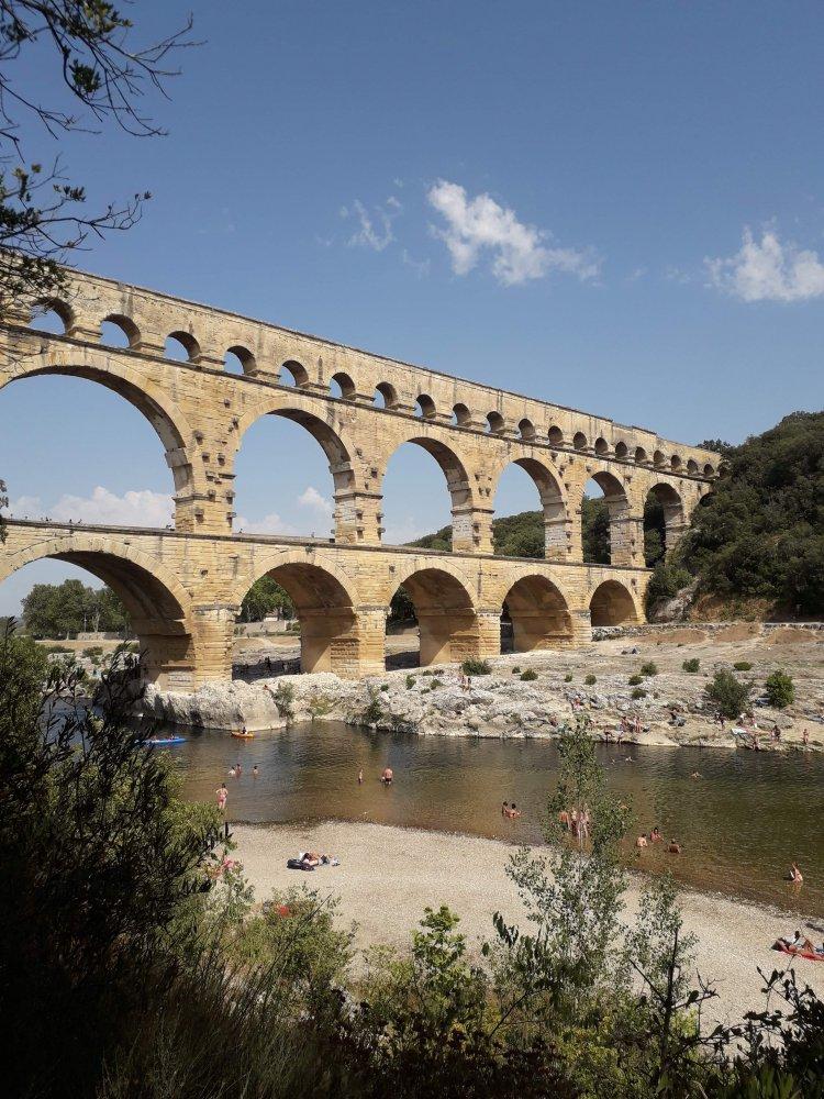 Journée au Pont du Gard - visite et canoë
